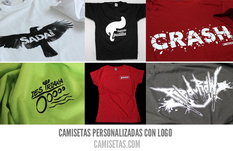 Camisetas personalizadas con-logo