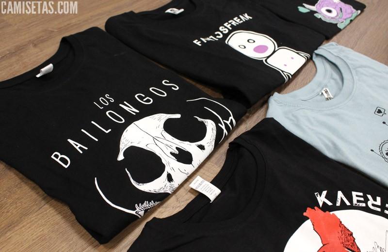 ilustraciones en camisetas
